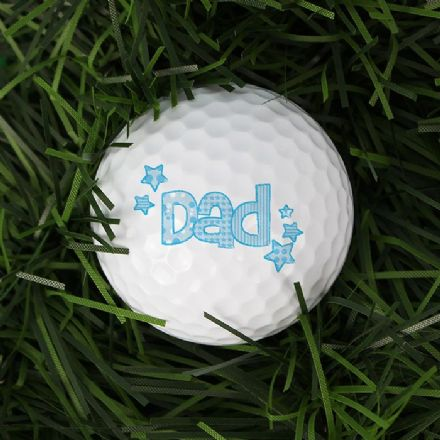 Personalised Golf Ball - Dad